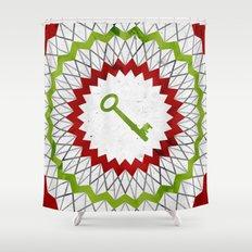 Phantom Keys Series - 12 Shower Curtain