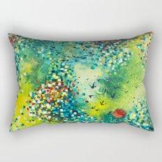 Dimensions of Flow Rectangular Pillow