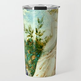 "Gustave Moreau ""The Peacock Complaining to Juno"" Travel Mug"