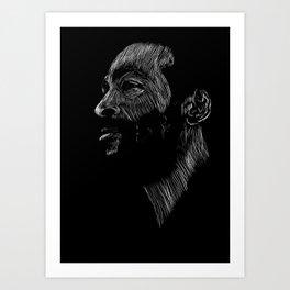 Marvin Gaye Art Print