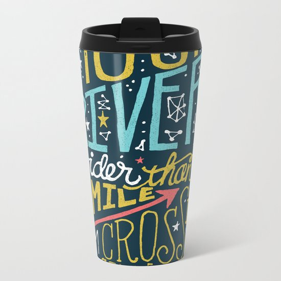 MOON RIVER Metal Travel Mug
