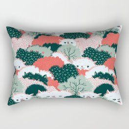 The Vegetable Lamb of Tartary Rectangular Pillow