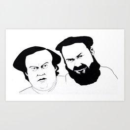 Mulligan and O'Hare Art Print