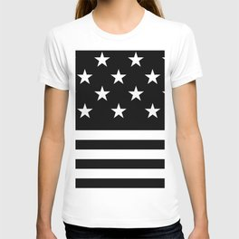 US Flag (Black/White) T-shirt