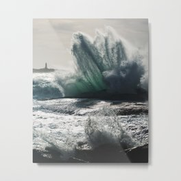 Launching Seas Metal Print