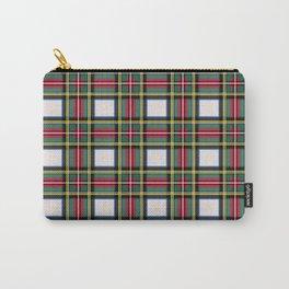 Minimalist Stewart Dress Tartan Modern Carry-All Pouch