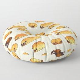 Bread Pugs Floor Pillow
