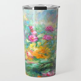 Roses paint  Travel Mug