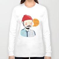 nan lawson Long Sleeve T-shirts featuring I Wonder If It Remembers Me by Nan Lawson
