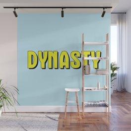 Dynasty (Blue) Wall Mural