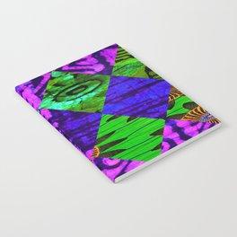 Mardi Gras African Print Notebook