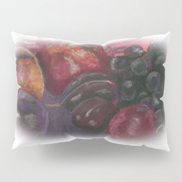 Pastel - Fruit Still Life Pillow Sham
