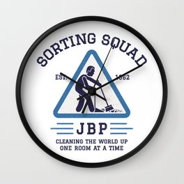 Jordan Peterson - Sorting Squad Wall Clock