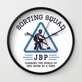 Jordan Peterson - Sorting Squad Wall Clock