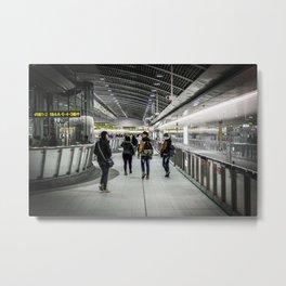 MRT Interior Metal Print