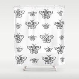 Moth-er of God Shower Curtain
