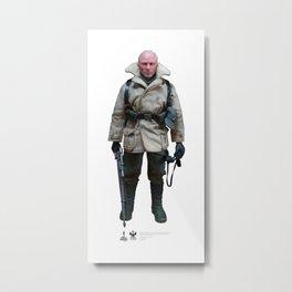 One Sixth Custom Figure 14 Metal Print