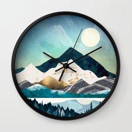 Evening Forest Wall Clock