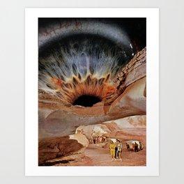 Cornea Caverns Art Print