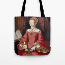 QUEEN ELIZABETH I - The Young Princess Tote Bag