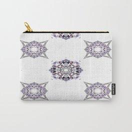 Pret A Porter Purple Pattern Carry-All Pouch