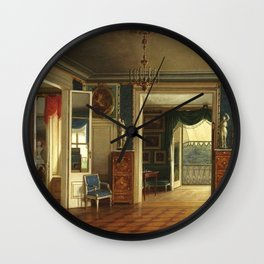 Marcin Zaleski - Royal Bedroom of the Palace on the Water Wall Clock