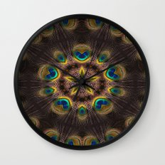 The Eye of the Peacock Wall Clock