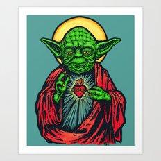 Holy Master Art Print