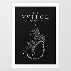 The Witch - Black Phillip Art Print
