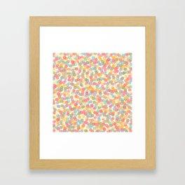 Le champ des abeilles Framed Art Print