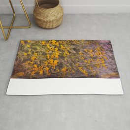 Yellow Jungle Rug