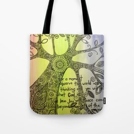 For a Moment Tote Bag