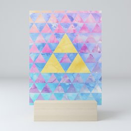 Zelda Geometry Mini Art Print