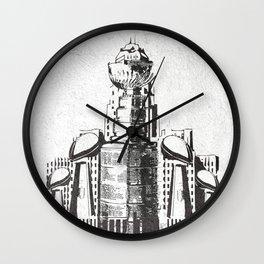 SHOULDA COULDA Wall Clock