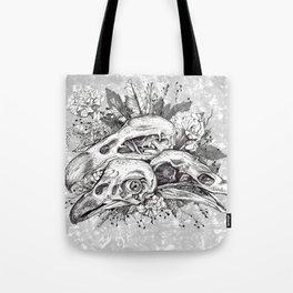Skull Pile Tote Bag