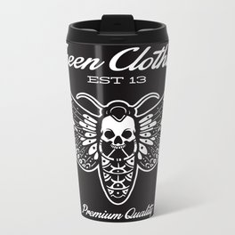 The fheen Moth  Metal Travel Mug