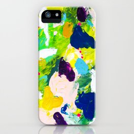Steps of a woman iPhone Case