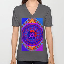 Astrological Hunab Ku Unisex V-Neck