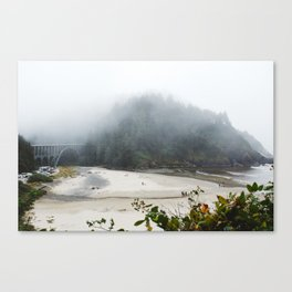 Overlook Beach Canvas Print