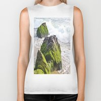 sublime Biker Tanks featuring Sublime Slime by Kim Ramage