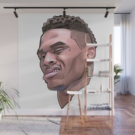 "Westbrook ""What?"" Wall Mural"