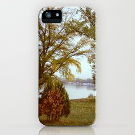 Autumn in Belgrade iPhone Case
