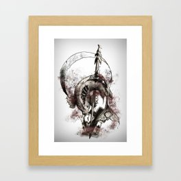 Sacrificium Framed Art Print