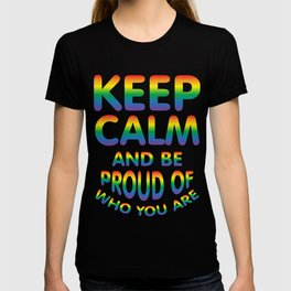 keep calm - Gay dePri T-Shirt T-shirt