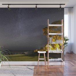 Summers night sky at Old Garden Beach Wall Mural