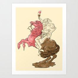 Viva la Cream - Redux Art Print