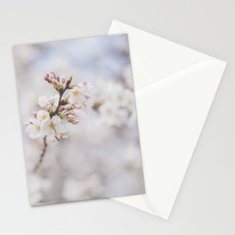 . delicate blossom . Stationery Cards