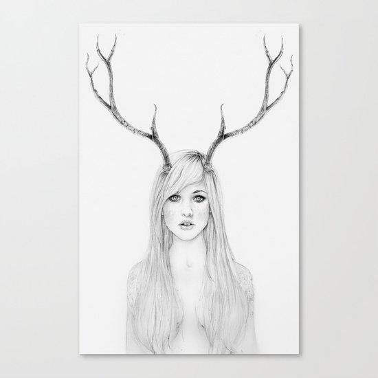 La Belle Degout Canvas Print