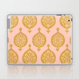 Endana Medallion in Peach Laptop & iPad Skin