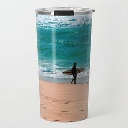 Bronte Beach Surfer. Sydney. Australia. Travel Mug